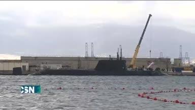 Submarino nuclear en Gibraltar