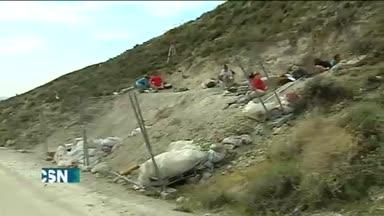 Hallados restos de un mamut en Baza