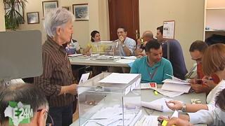 Jornada electoral en M�laga