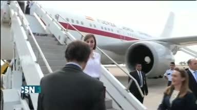 La Reina viaja a Centroam�rica