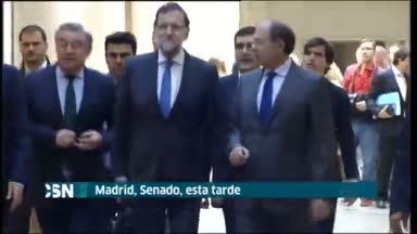 Rajoy defiende en el Senado victoria p�rrica del PP