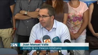 En huelga de hambre el alcalde de Los Palacios