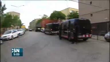 Operaci�n antidroga en Girona