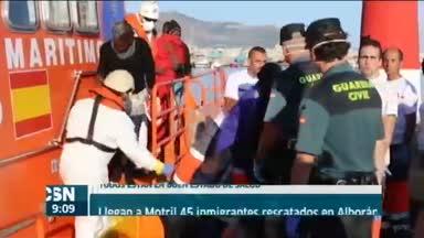 Llegan a Motril 45 inmigrantes rescatados