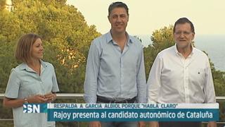 Rajoy elogia a Garc�a Albiol