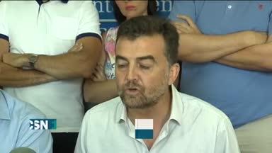 Ma�llo apoya al alcalde de Los Palacios