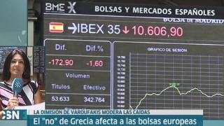 Los mercados se resienten por el 'no'