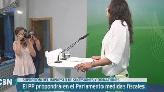 El PP anuncia medidas fiscales