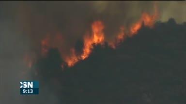 Estabilizado incendio Sevilla