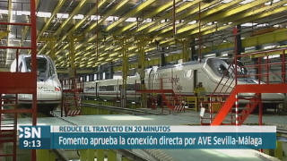 Alta velocidad Sevilla-M�laga