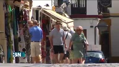 Sigue la ola de calor en Andaluc�a