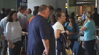 Flujo de pasajeros en Aerop�erto de M�laga