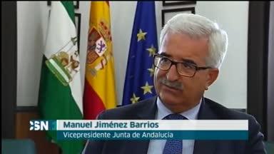 Jim�nez Barrios critica la liquidaci�n negativa a Andaluc�a