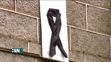 Protestas contra parricidio en Galicia