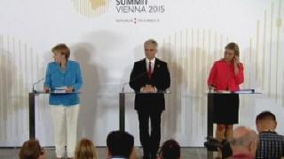 Cumbre de Viena pide una respuesta com�n