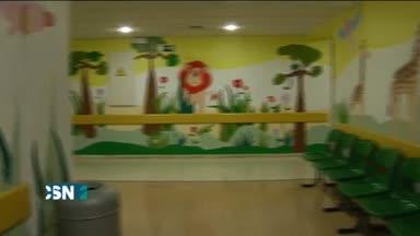 Coloreando el hospital