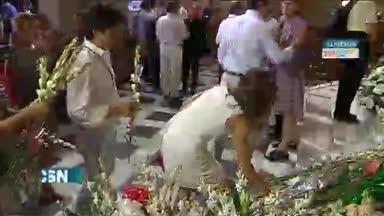 Ofrenda floral en Almer�a
