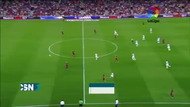 Barcelona 1-0 M�laga