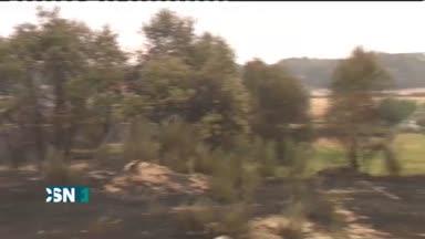 Remite el fuego de Ourense