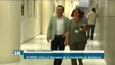 PSOE-A critica los PGE para Andaluc�a