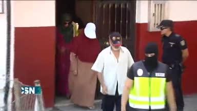 Registro domicilio presunto terrorista en Algeciras