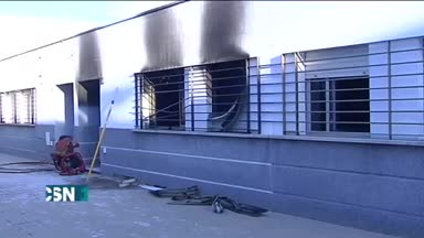 Incendio mortal en Huelva