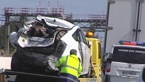 Tres muertos en carreteras andaluzas el fin de semana