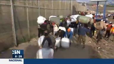 Los porteadores de la frontera de Melilla
