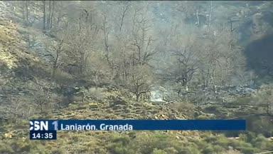 Balance del fuego en Lanjar�n