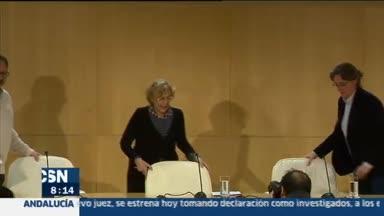 La alcaldesa de Madrid pide perd�n