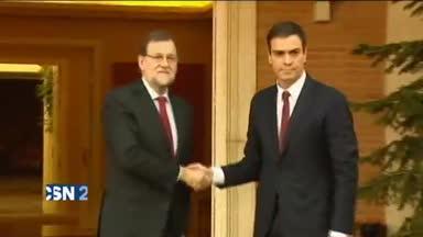 La reuni�n de Rajoy y S�nchez, el viernes