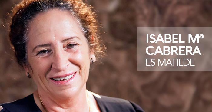 Entreolivos | Isabel Mª Cabrera es Matilde