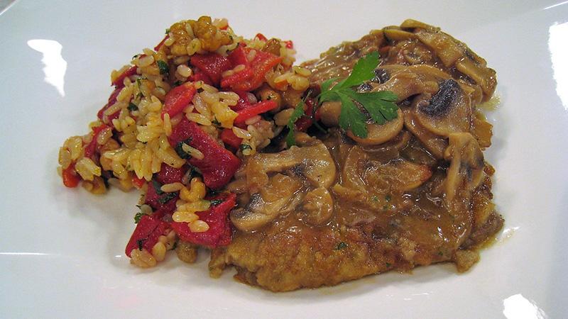 C Sur Cocina Cometelo Recetas | Escalopines De Ternera Con Salsa De Queso Receta De Cometelo
