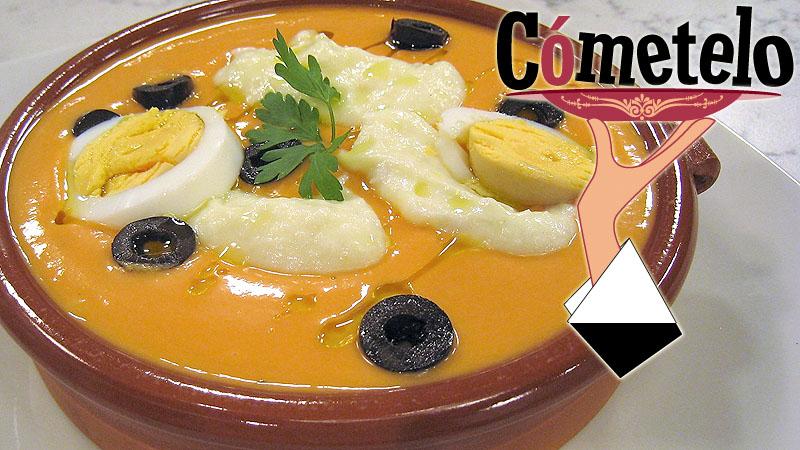 Salmorejo de naranja con bacalao propuesta de c metelo para este mi rcoles - La cocina de cometelo ...