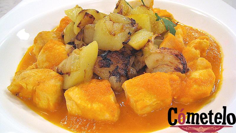 C metelo prepara una receta tradicional y casera pollo con tomate - La cocina de cometelo ...
