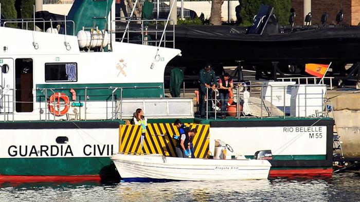 La embarcación que causó la muerte a un niño en Algeciras suministraba combustible a las narcolanchas