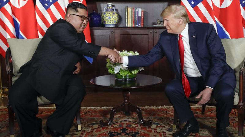 Trump y Kim firman un histórico acuerdo que `cambiará el mundo`