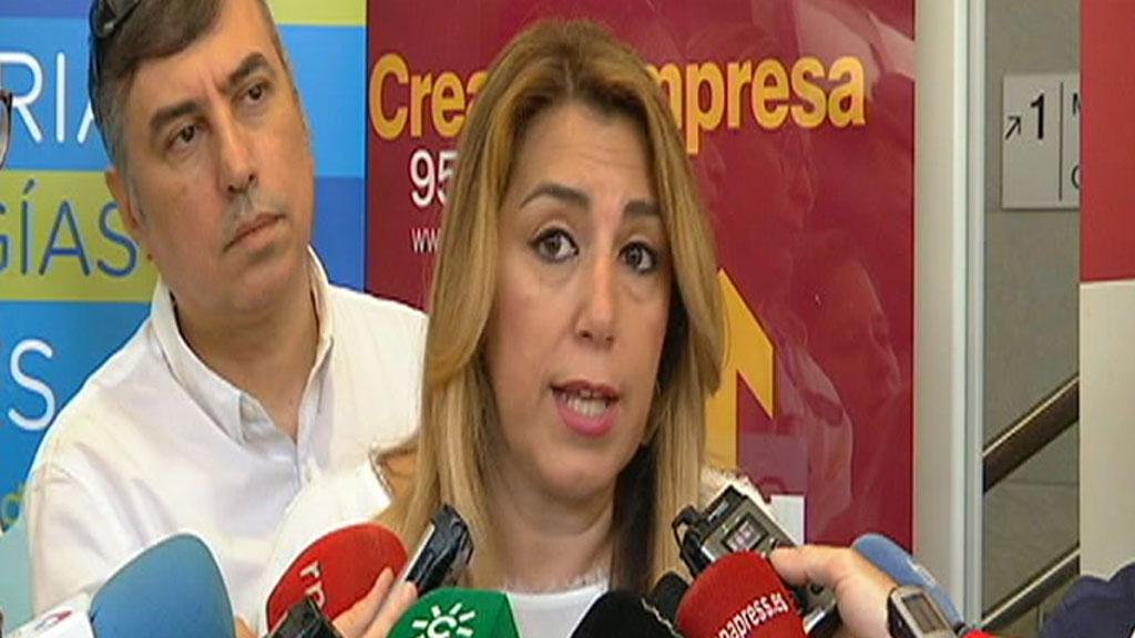 Díaz reclama al Gobierno los 4.000 millones de euros de déficit de Andalucía