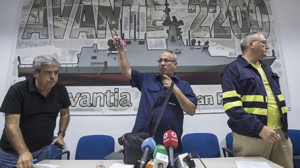 Los trabajadores de Navantia de San Fernando cortan la A4