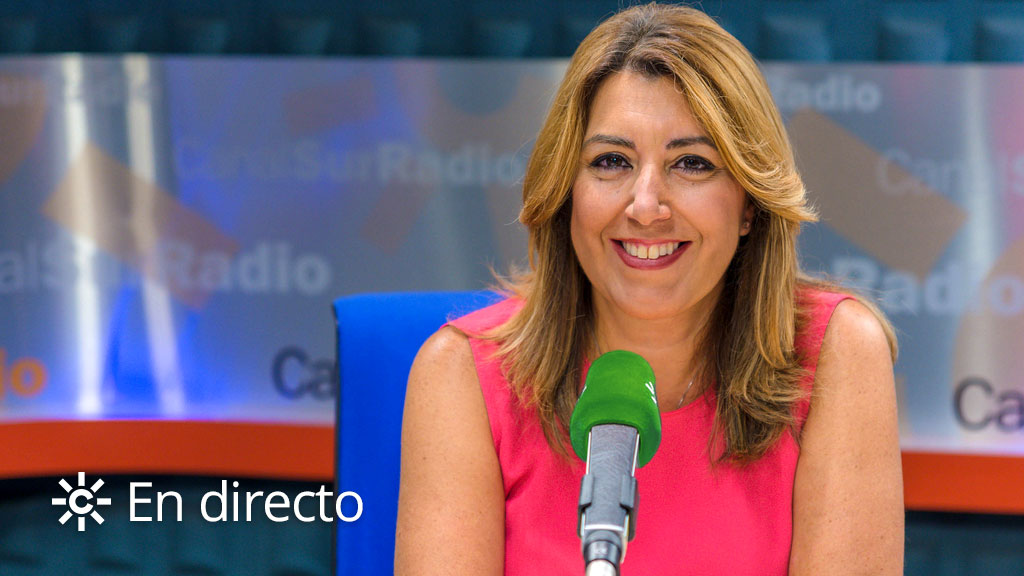 Canal Sur Radio entrevista a Susana Díaz este martes en `La Hora de Andalucía`