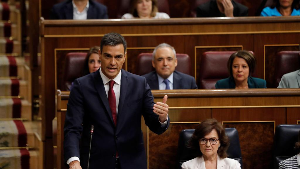 Casado a Sánchez: `Cómo va la situación política y económica`