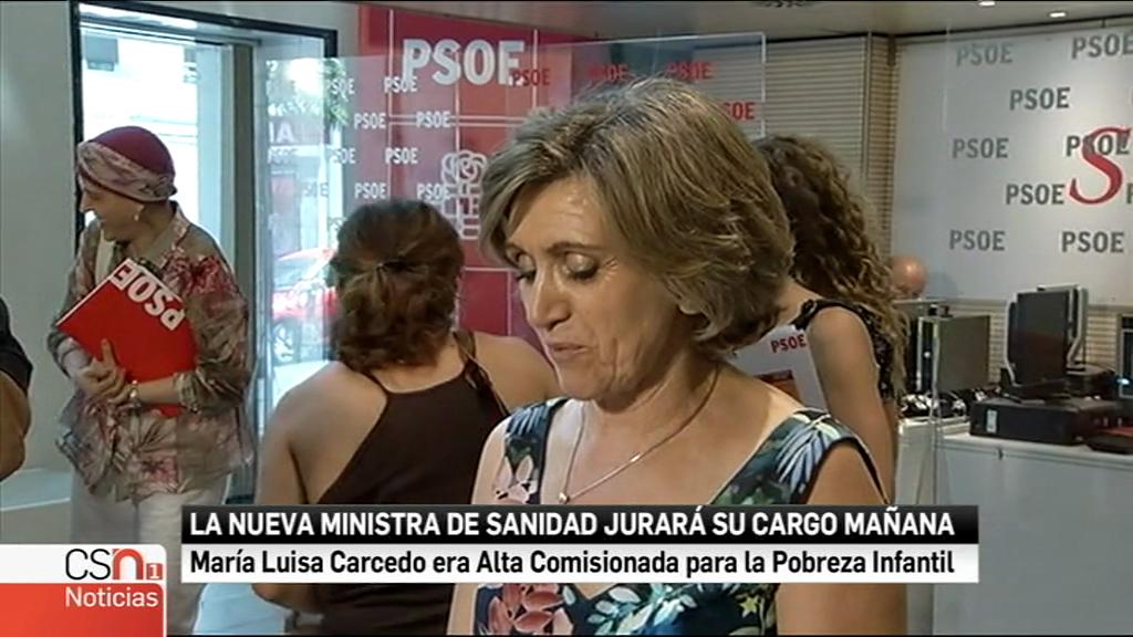 Carcedo promete ante el Rey como nueva ministra de Sanidad