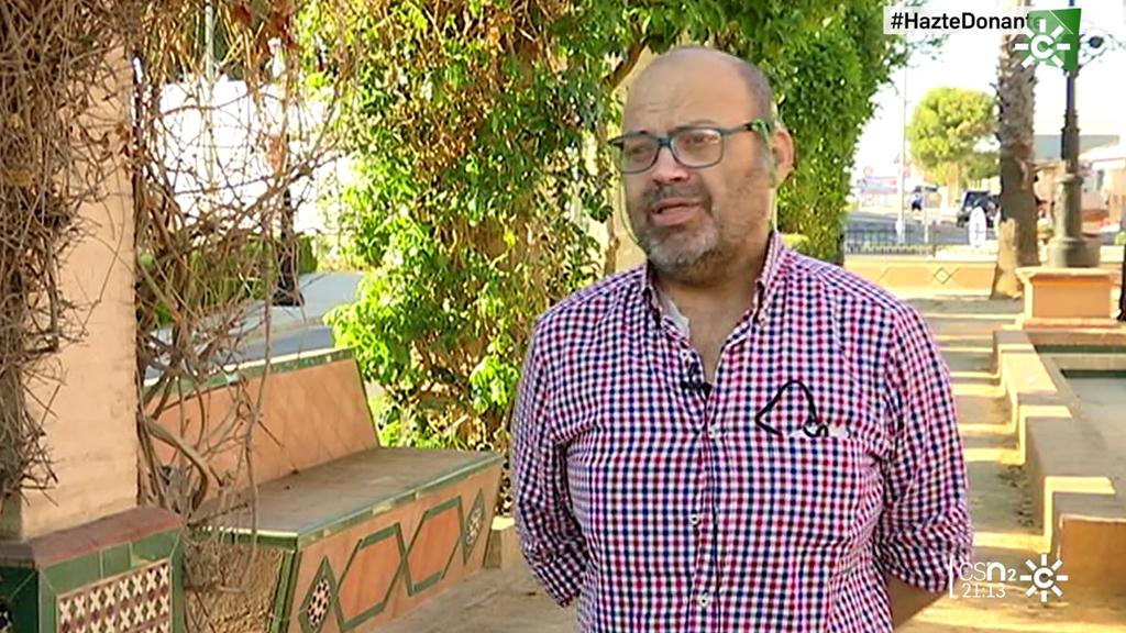 Andrés León, en lista de espera para trasplante, hace un llamamiento a la donación